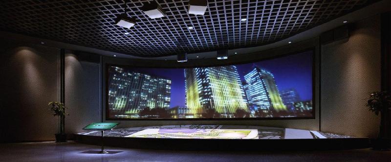数字沙盘系统-数字沙盘-天津展厅设计丨企业展厅设计